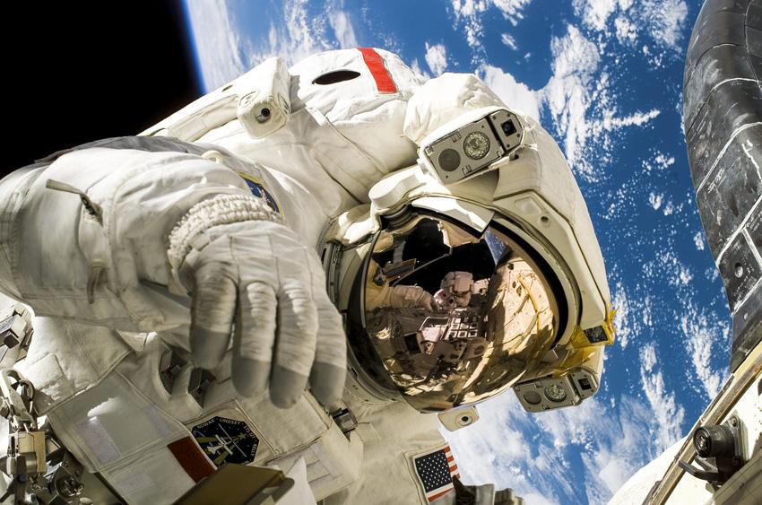 NASA, Astronaut Michael Fossum