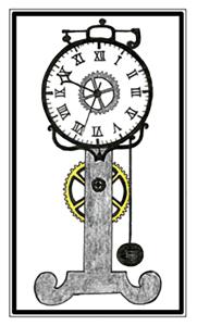 Mechanical Clock 800w