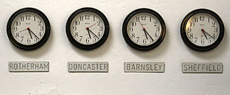 local time zones (South Yorkshire)