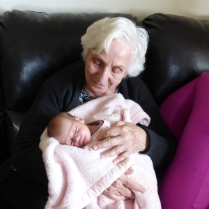 grandmother infant-1052620_640
